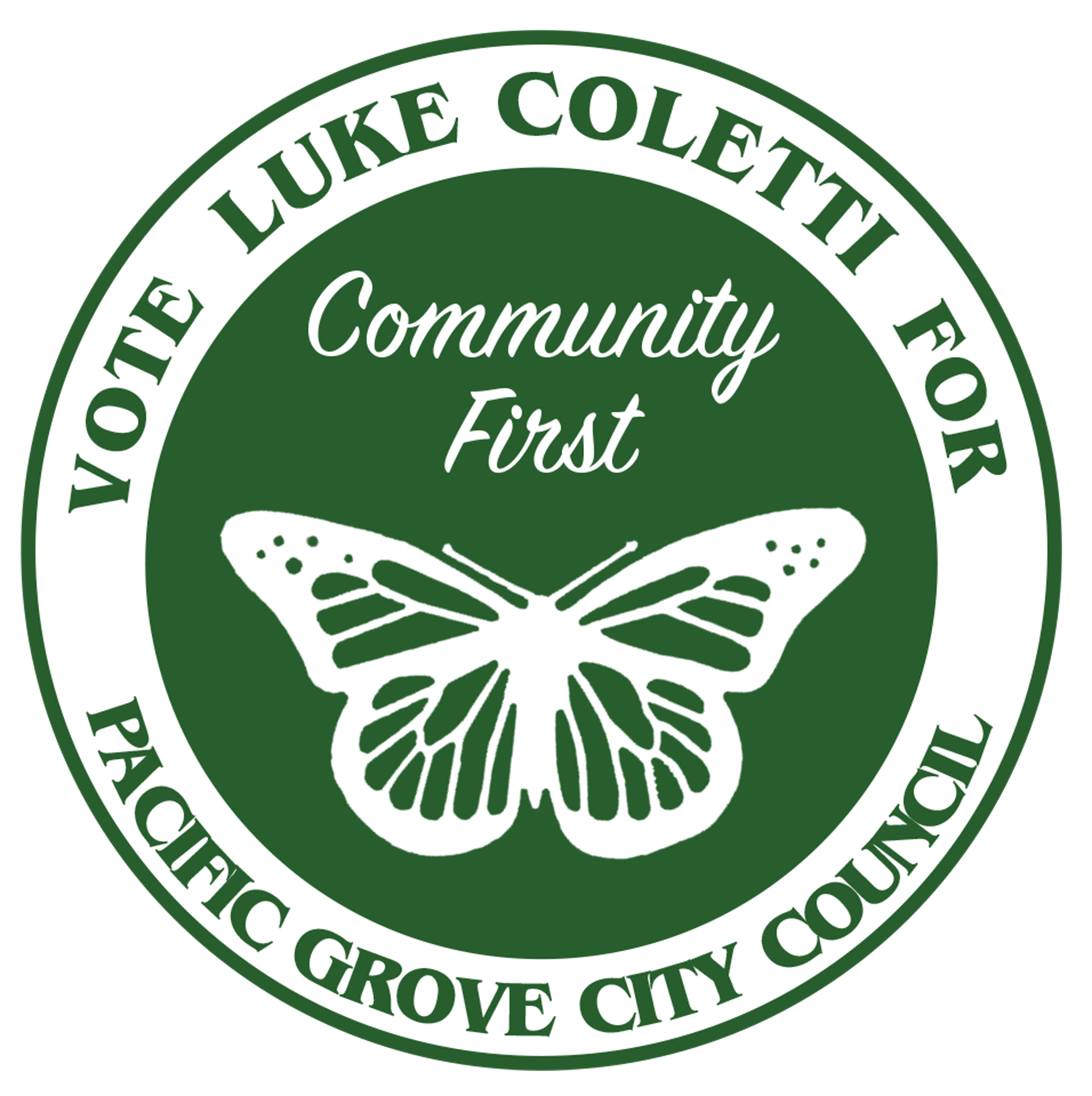 Luke Coletti for Pacific Grove City Council